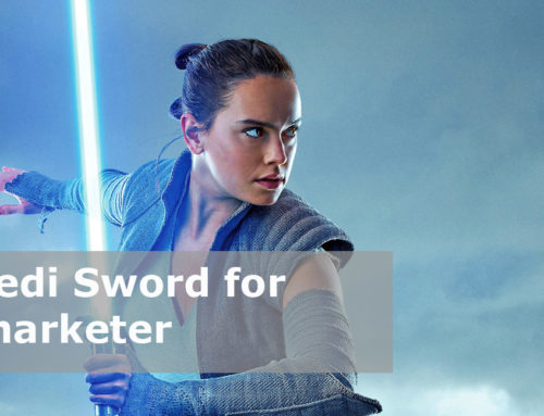 Jedi Sword for marketer