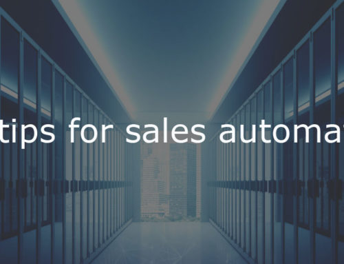 12 tips for sales automation